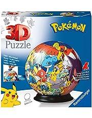 Ravensburger 3D Puzzle 11785 - Puzzle-Ball Pokémon - 72 Teile - Puzzle-Ball für Pokémon Fans ab 6 Jahren: Erlebe Puzzeln in der 3. Dimension