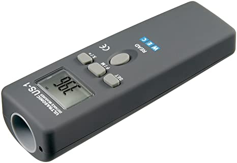 Entfernungsmessung Mit Ultraschall : Goobay 77143 ultraschall entfernungsmesser mit laser fokussierung
