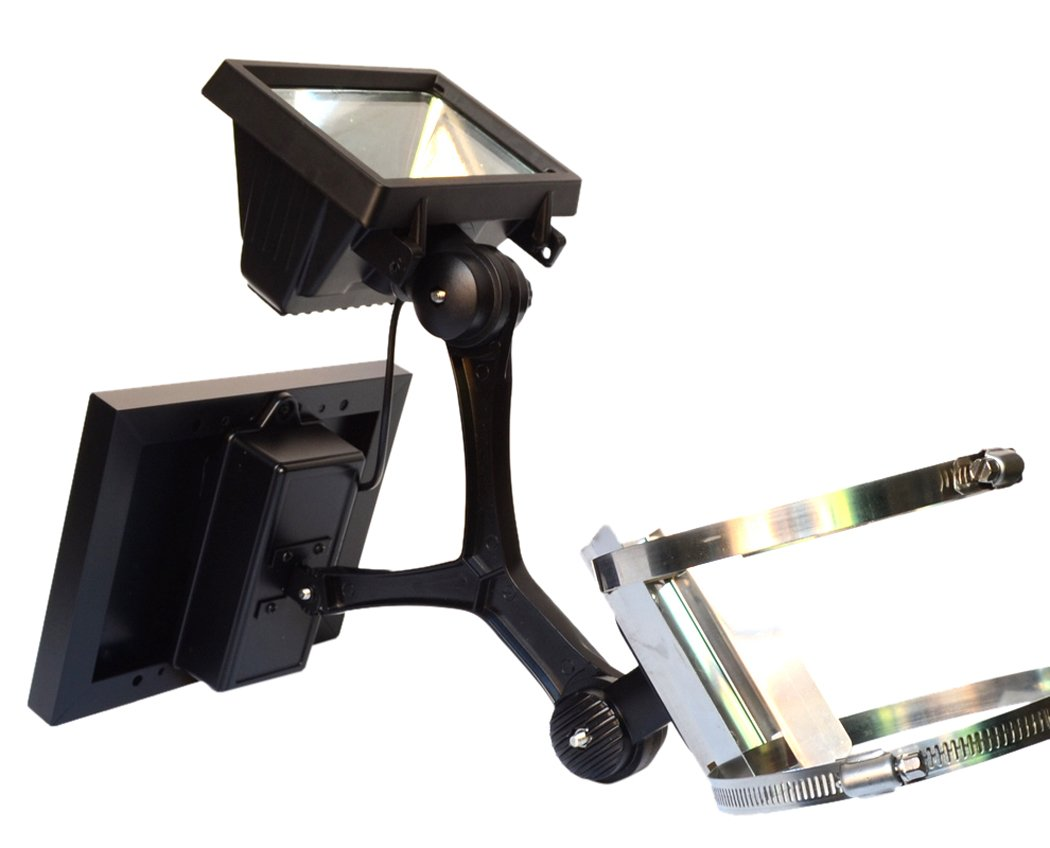 Valley Forge Flag CSFPL-8 Commercial LED Solar Flagpole Light by Valley Forge