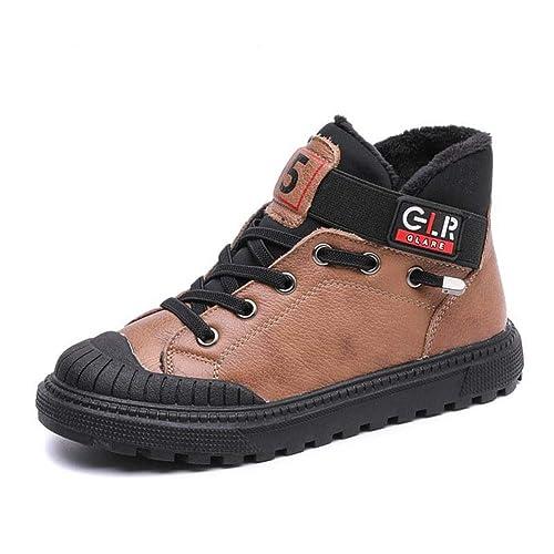 Zapatillas Deportivas Altas y Altas con Zapatos de Velcro para niños Zapatillas Deportivas Negras Antideslizantes: Amazon.es: Zapatos y complementos