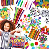 Arts & Craft Supplies for Kids – 1500+pcs in Easy