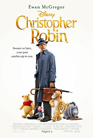 映画ポスター プーと大人になった僕 Christopher Robin ディズニー US版 hi2 [