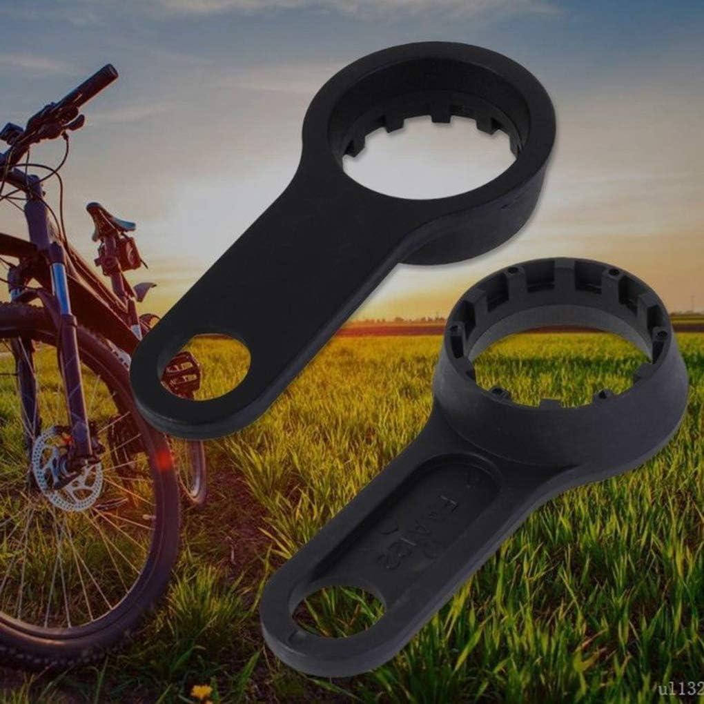 Reemplazo para Suntour XCT XCM XCR Bicicletas Frente Tenedor de Bicicletas Llave Inglesa Remover Herramientas Reparaci/ón 1 Agujero
