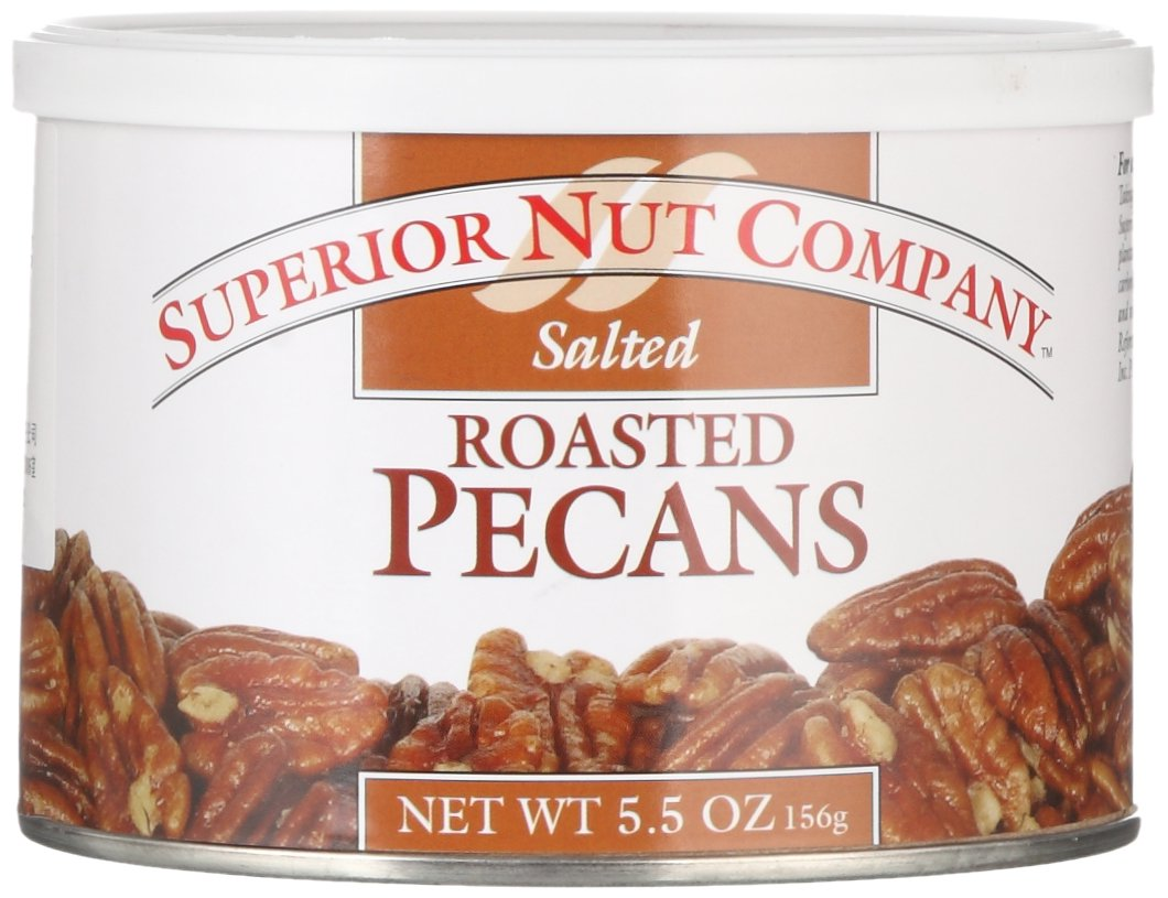 Superior Nut Roasted Salted Pecans, 5.5 oz Superior Nut Company
