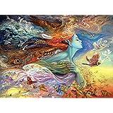 Buffalo Games - Josephine Wall - Spirit of Flight - Glitter Edition - 1000 Piece Jigsaw Puzzle