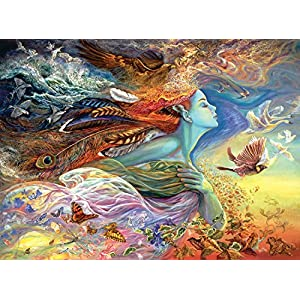 Buffalo Games Josephine Wall Spirit Of Flight 1000 Piece Jigsaw Puzzle By Buffalo Games