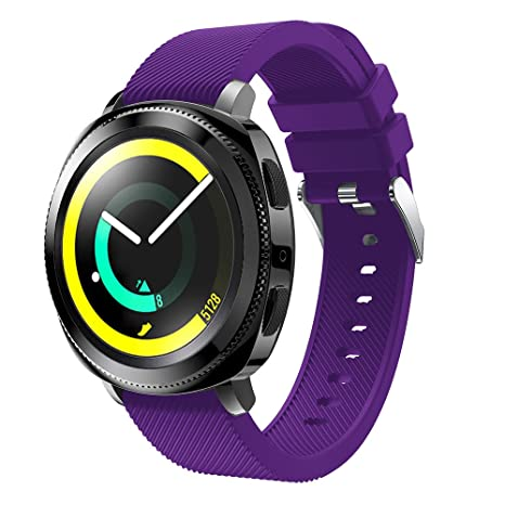 Gosuper Silicona suave deporte Replacement Bracelet para Samsung Gear Sport SM-R600/Gear S2 Classic Smart Watch