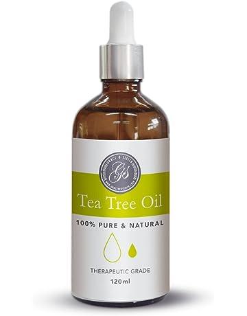 Aceite esencial de árbol de té (120 ml) 100% puro y natural vegano