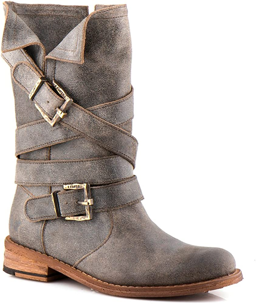 Boots - Genuine Leather - Multicolor