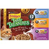 Purina Friskies Tasty Treasures Variety Pack Wet Cat Food