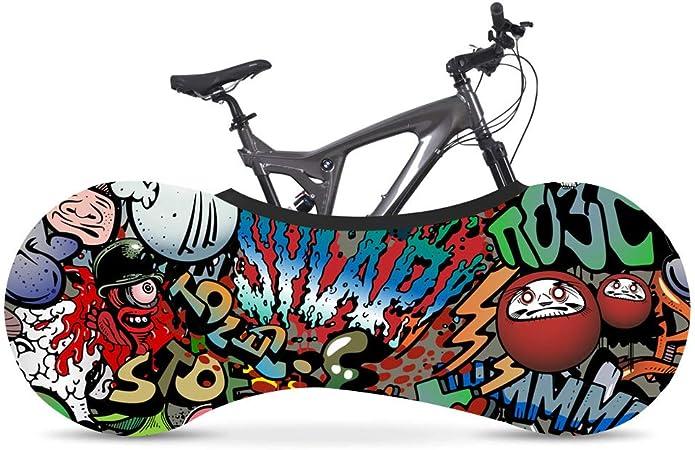 Cubierta de bicicleta de interior 26-28 pulgadas Cubierta de rueda de bicicleta Bolsa de almacenamiento a prueba de polvo Carretera MTB Cubierta de polvo de bicicleta Ciclismo Bicicleta Cubierta J: Amazon.es: Hogar