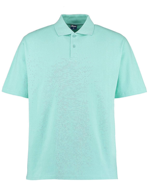 Camisa Polo Clásica para Hombre Marrón UK 42 / EU 52: Amazon.es ...