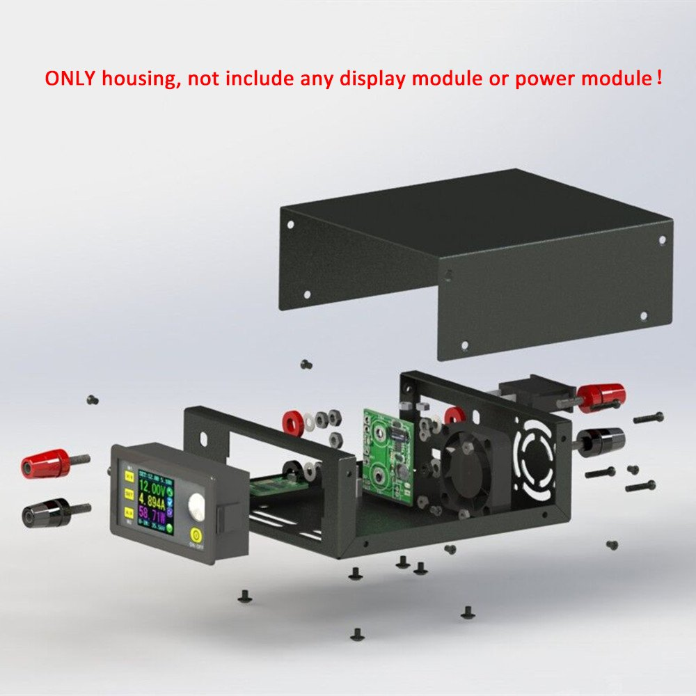 RD DP and DPS Power Supply DIY Housing Kit with Communication Interface Digital Constant Voltage Current Buck Converter Casing Only Box