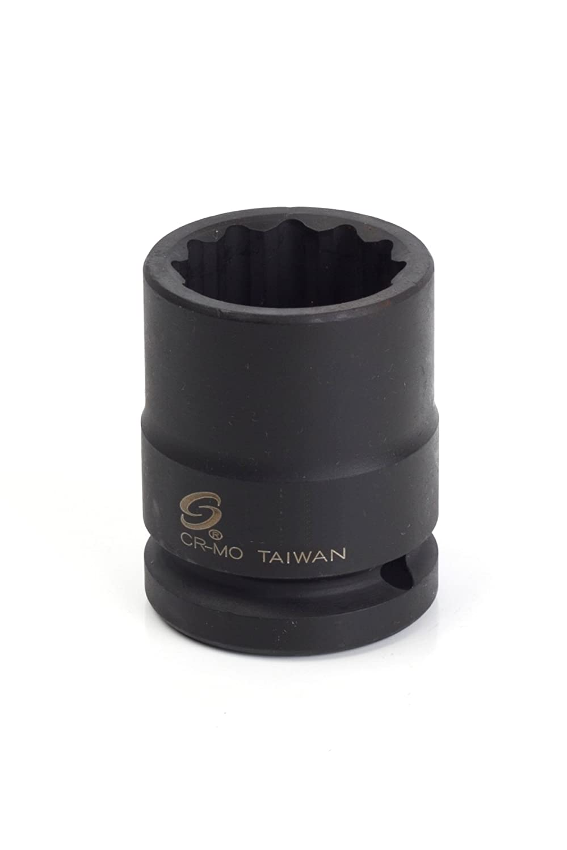 Sunex 427mzt 3//4-Inch Drive 27-Mm 12-Point Thin Wall Impact Socket Sunex International