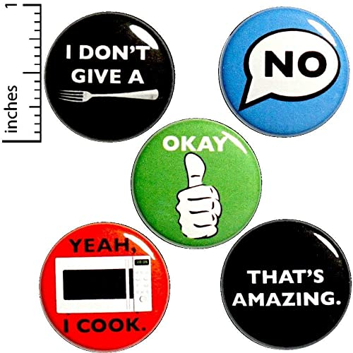 Amazon com: Sarcastic Button 5 Pack Buttons for Backpacks