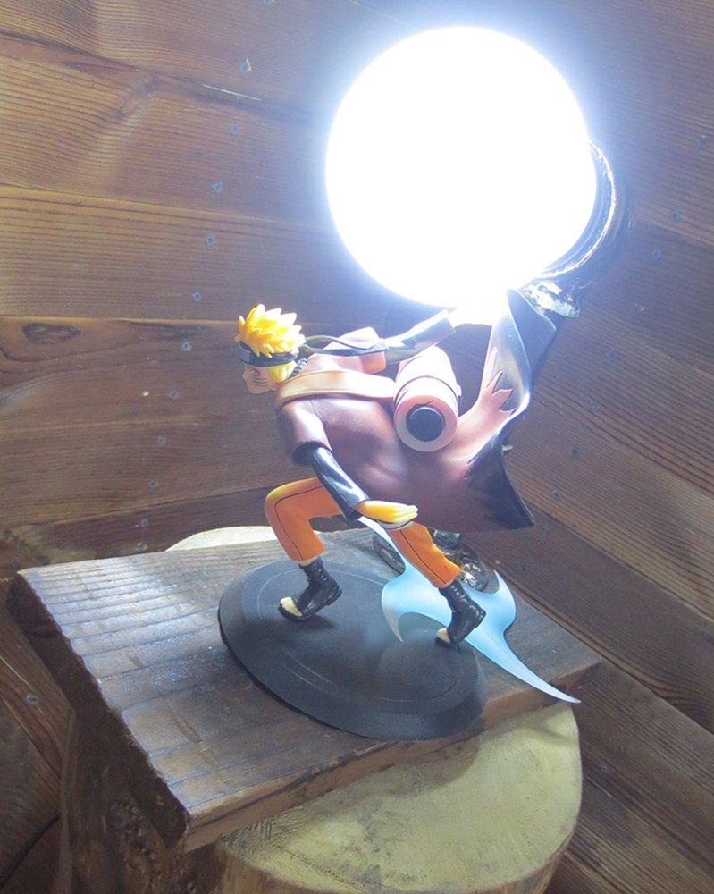 Naruto: Shippuden series LED Desk Lamp (Naruto) by Aurookeb