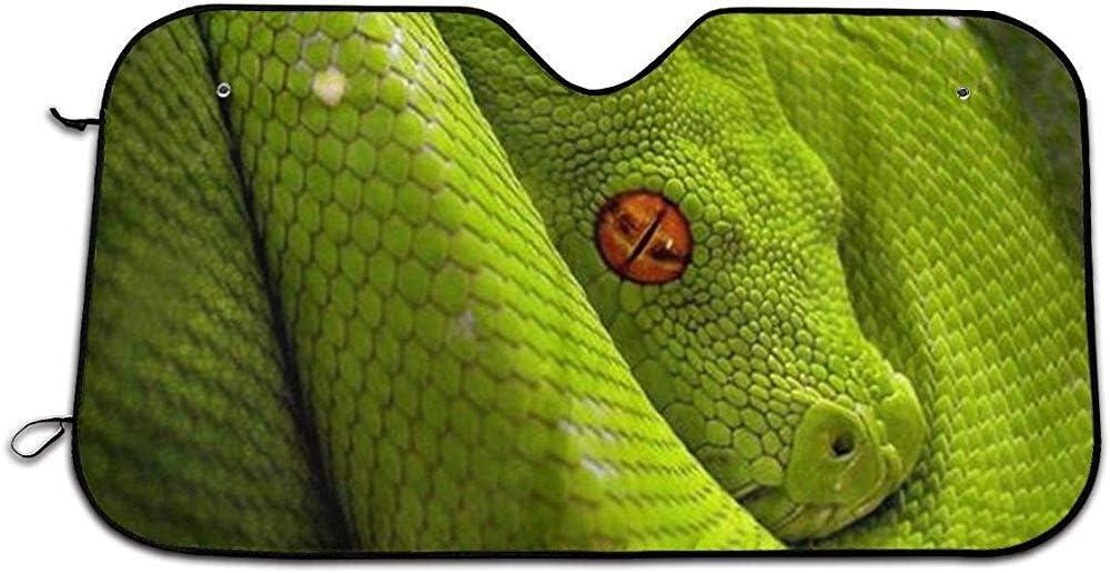 Pare-Soleils Pour Pare-Brise Avant Auto Cobra Rattle Snake Eyes Python Sun Shade Pare-Brise Pare-Soleil Pare-Soleil Car Cover Blocks Rays Protector Covers Parfait Pour La Plupart Des Mod/èles De