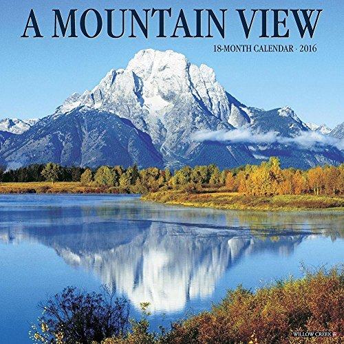 Mountain View 2016 Wall Calendar
