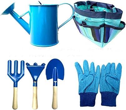 Juego de herramientas jardín para niños, jardinería niños Juguetes playa al aire libre, libre y juguetes aprendizajeBolsa lujo (Herramientas jardinería): Amazon.es: Bricolaje y herramientas