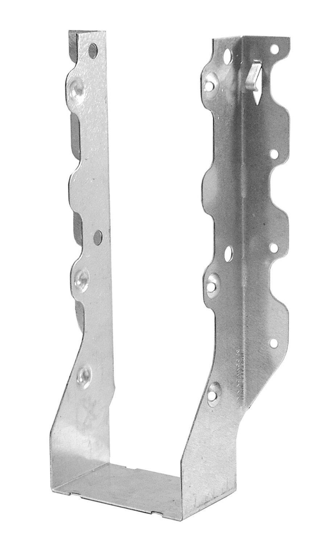 """Galvanized 2/"""" X 10/"""" Triple Joist Hanger 18 Gauge"""