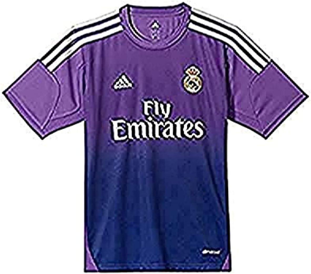 adidas Portero Real Madrid 13-14 Niño, Camiseta, Morada, Talla 164: Amazon.es: Deportes y aire libre
