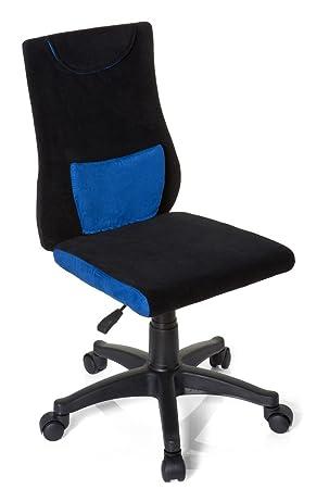Hjh OFFICE 670510 Chaise De Bureau Enfant Pour KIDDY PRO Noir