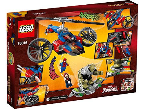 (LEGO Super Heroes 76016: Spider-Helicopter Rescue)