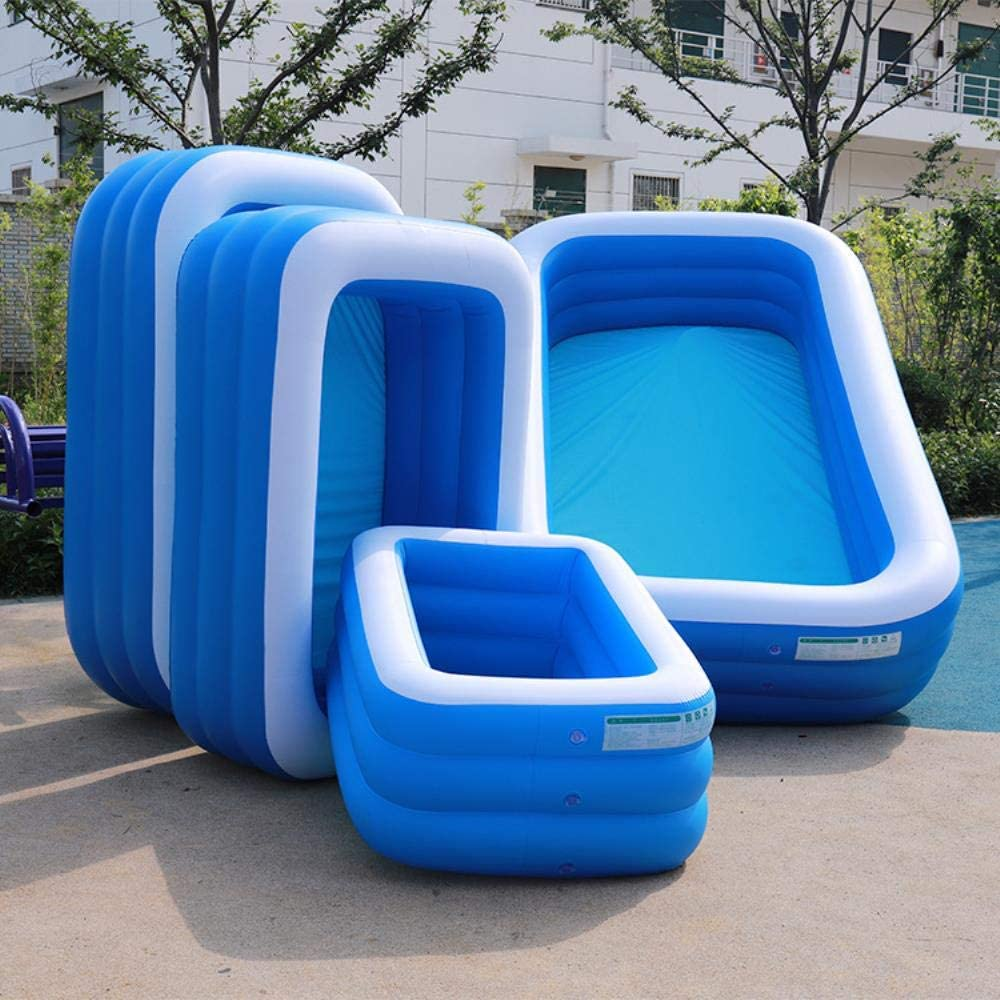 Empty Piscina Inflable vacía de 1 unid Piscina Infantil Ocean Bath Baby Bath Swim Tubs Plus Size Large PVC Piscinas para niños Eco-Friendly, 150x110x50cm: Amazon.es: Hogar