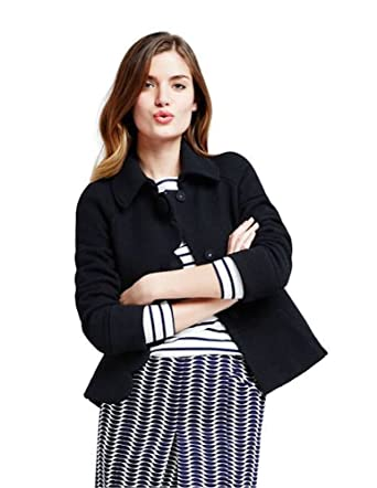 8d7e7a3d2980 Boden Black Alice Jacket Blazer Light Coat Size US 4 at Amazon Women's Coats  Shop