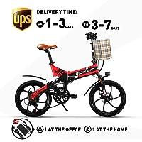 RICH BIT vélo électrique RT-730 Pliable e-Bike 250W Moteur 48V * 8Ah LG Batterie Frein à Disque mécanique Intelligent ebike Shimano 7 Vitesses