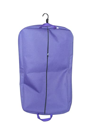 bcbf8449917c BAGS USA 36 Inch Garment Bag 600 Denier Polyester,two Pockets,carry on Bag  Made in Usa(purple)