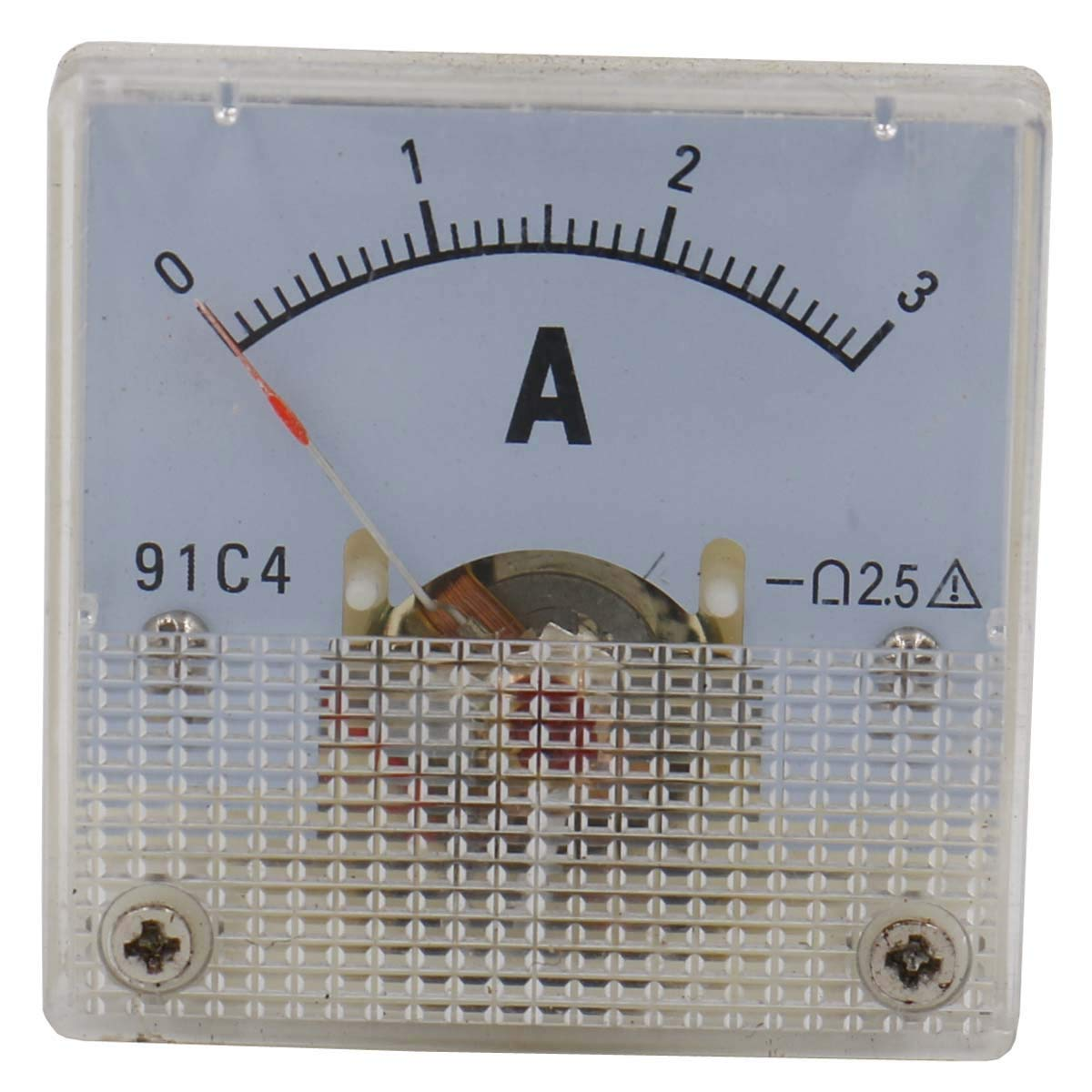 YXQ 0-20mA Analog Current Panel 91C4 Amp Ammeter Gauge Meter 2.5 Accuracy for Auto Circuit Measurement Tester