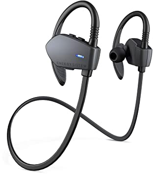 Energy Sistem Sport 1 Energy Bluetooth Earphones (Graphite) In-Ear Headphones at amazon