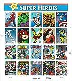 2007 Marvel Comics Super Heroes Sheet of Twenty 41 Cent Collectible Stamps Scott 4159