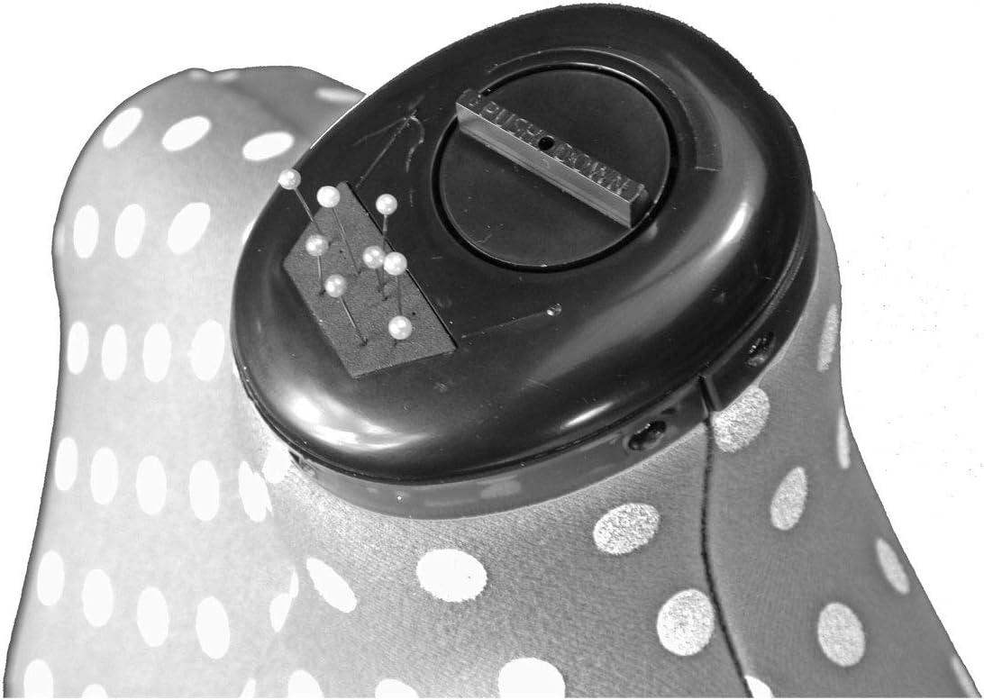 Verstellbare Schneiderpuppe Gr/ö/ße Klein f/ürbe Grau mit Punkten Adjustoform 8-Teilige