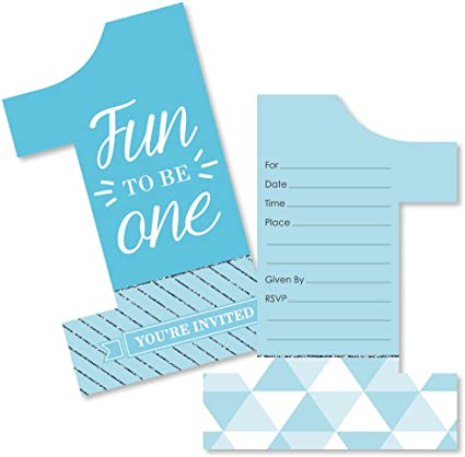 Amazing Amazon Com 1St Birthday Boy Fun To Be One Shaped Fill In Funny Birthday Cards Online Alyptdamsfinfo