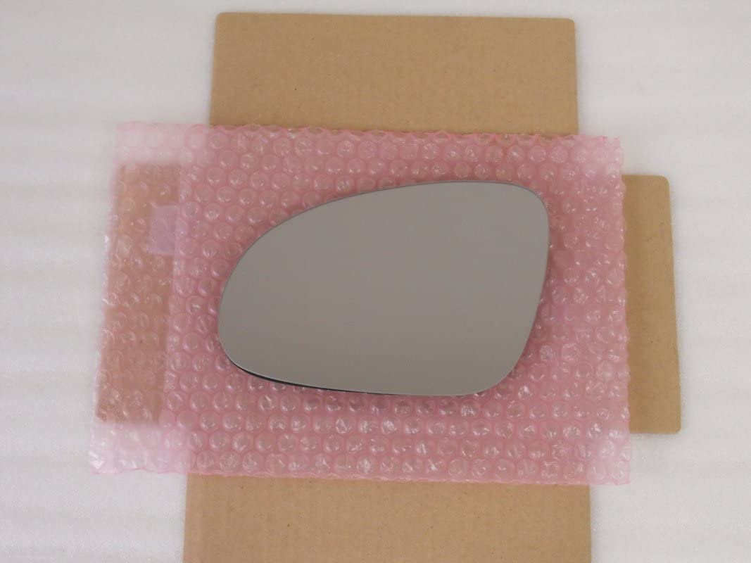 Replacement HEATED Mirror Glass with BACKING Plate for Volkswagen Jetta Passat EOS GTI Rabbit R32 Passenger Side RH