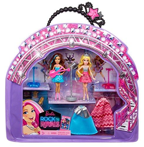 [Barbie in Rock N Royals Doll and Vinyl Bag Gift Set] (Vinyl Rock Star Costumes)