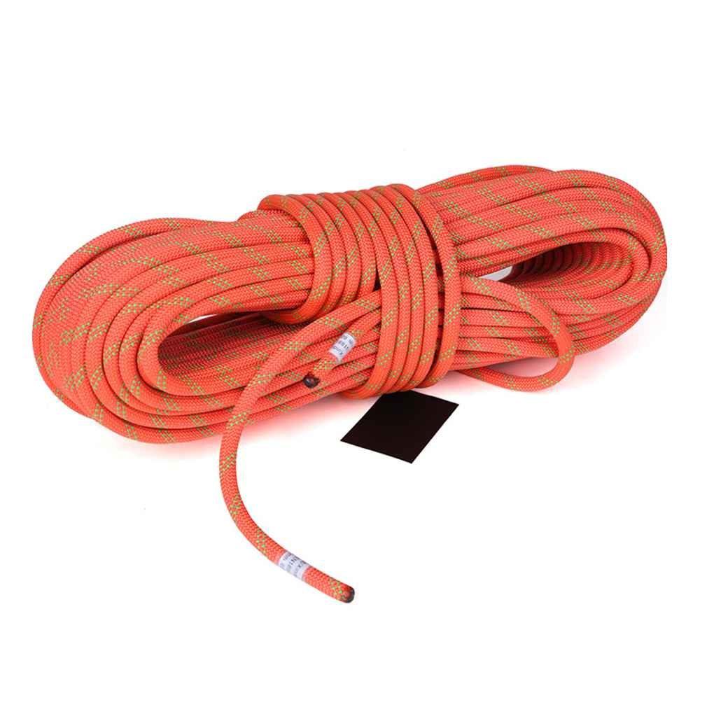 Luckiests XINDA Aventura al Aire Libre Senderismo Montañismo Seguridad contra Incendios Rescate con Cuerda Escalada Nudos de la Cuerda del Cable de Alta Resistencia
