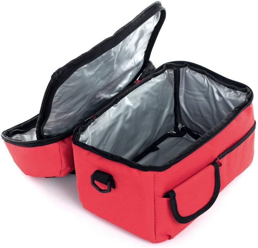 rojo Fackface/®-Bolsa isot/érmica para el almuerzo impermeable Rojo gran capacidad Oxford-Nevera de Camping Sport////////Maternity trabajo enfadado - TRA-BAG-000222-LY-FR