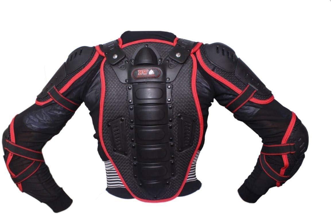 TECH-A1WORLD Protection du corps pour enfant avec protection dorsale et genouill/ères rigides