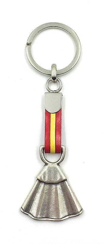 FJR-ArtPiel - Llavero bandera de España con capote - Alta Calidad: Amazon.es: Handmade
