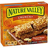 Nature Valley Crunchy Granola Bars, Peanut Butter, 12 Count
