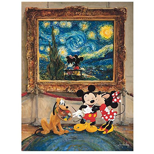 """""""Friends of the Classics"""" Hand Embellished Limited Edition Giclee on Canvas by Stephen Shortridge from Disney Fine Art; Numbered, Hand Signed, with Certificate!"""