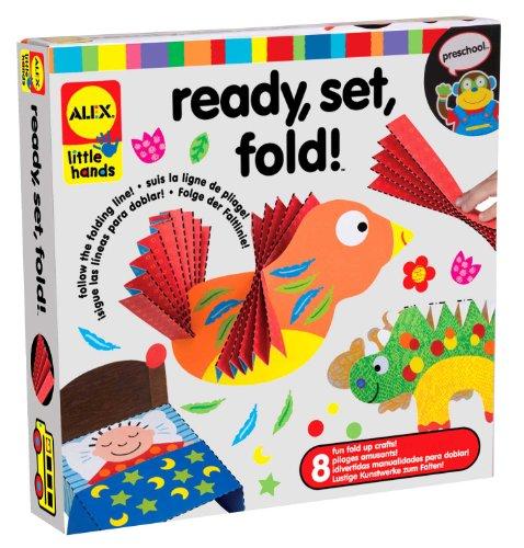ALEX Toys Little Hands Ready Set Fold