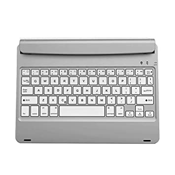 BaZhaHei Teclado bluetooth inalámbrico de Apple Teclado inalámbrico ultra delgado Bluetooth para iPad AIR2 / PRO9.7 Ordenador y oficina Accesorios de ...
