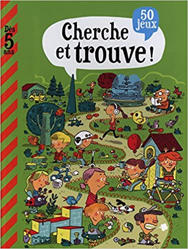Mon Grand Livre De Jeux Cherche Et Trouve Des 5 Ans Album