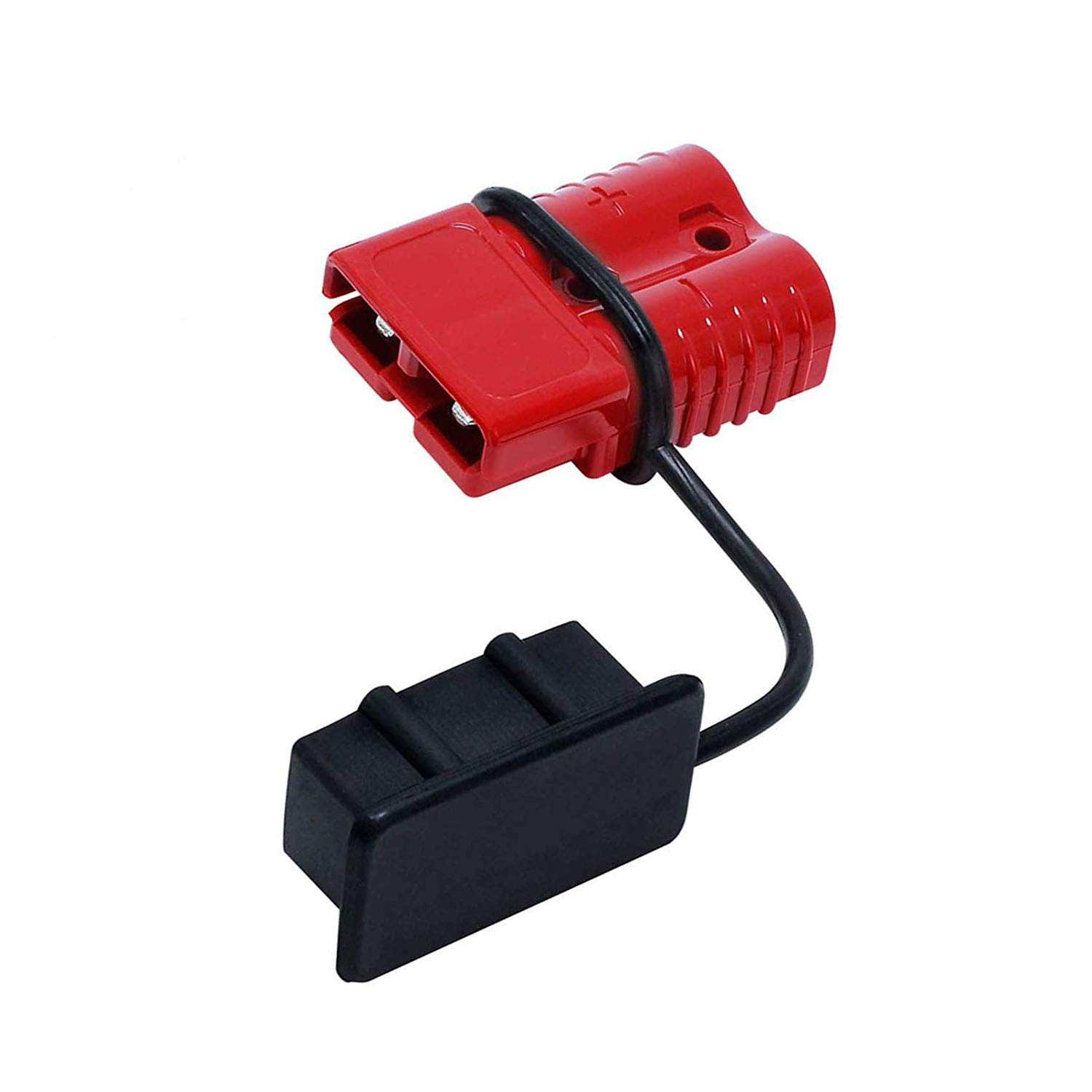 Liyafy Battery Quick Connect Disconnect Electrical Plug 2-4 Gauge 175 Amps for Recovery Winch or Trailer