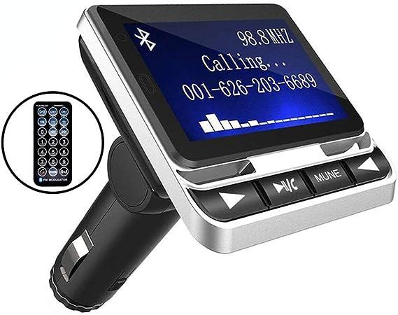 Bluetooth FM Transmitter LDesign Wireless in-Car FM Radio Adapter Car Kit wi...