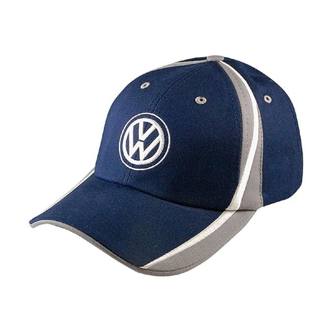 Amazon.com  Volkswagen Genuine Raceway Baseball Cap Hat Navy  Clothing e11f10045ba